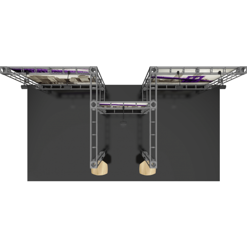 Saturn Orbital Express Truss 20ft Modular Exhibit