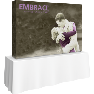 Embrace 7.5ft Tabletop Push-Fit Tension Fabric Display