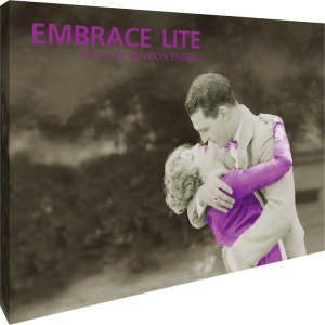 Embrace Lite 10ft Full Height Push-Fit Tension Fabric Display