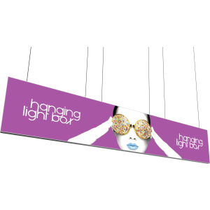 Vector Frame Hanging Light Box 20ft x 4ft