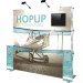 Hopup 7.5ft Full Height Tension Fabric Backwall and Accessory Kit 01
