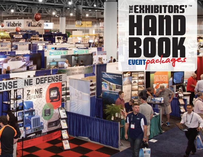 The Exhibitors Handbook events Catalog